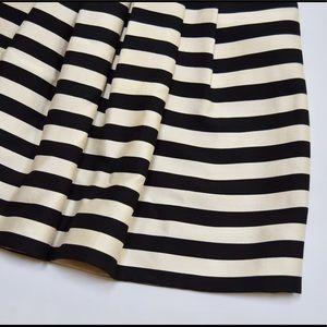 Banana Republic Dresses - Banana Republic Black White Striped Cocktail Dress